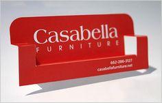 Mobiliário de cartão de visita criativo 2.013 degraus que ajudará a projetar memorável Cartões de visita