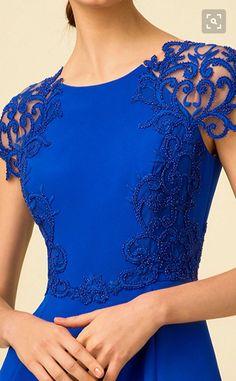 Elegant Dresses, Pretty Dresses, Blue Dresses, Beautiful Dresses, Short Dresses, Prom Dresses, Dresses With Sleeves, Formal Dresses, Kleidung Design