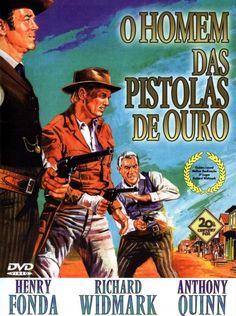 WARLOCK (1960) - Henry Fonda - Richard Widmark - Anthony Quinn - Directed by Edward Dymytrk - 20th Century-Fox - DVD Cover Art.