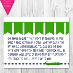 Preppy Alligator Baby Shower PRINTABLE by AmandaCondraDesigns, $5.00