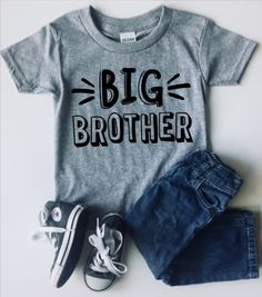 Big Brother Training In Progress T-Shirt New Born Announcement Bro Promoted to