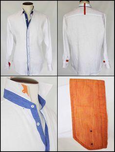 %100 linen shirts