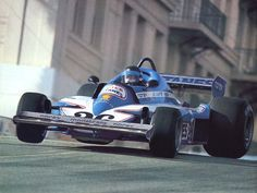 1977 Monaco Grand Prix Ligier JS7 Jacques Laffitte