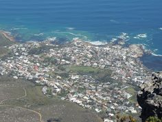 View from Table Mountain, Cape Town Table Mountain, Cape Town, South Africa, Beach, Water, Outdoor, Gripe Water, Outdoors, The Beach
