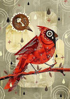 work by alberto cerriteno by papernstitch, via Flickr