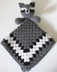 Ravelry: Raccoon Lovey pattern by Heather Sonnenberg