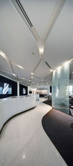 Virgin Lounge Melbourne :: Tonkin Zulaikha Greer Architects: