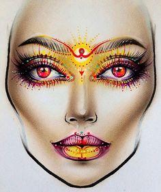 Moscow MAC Smolensky Passage Makeupartist Facechartartist Art sxmilk1422@gmail.com