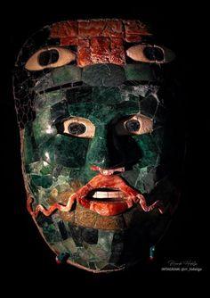 Máscara funeraria, Calakmul