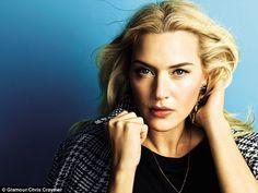 Kate Winslet - Glamour Magazine  - Chris Craymer - 2014  #Makeup by Lisa Eldridge http://www.lisaeldridge.com/gallery/celebrities/