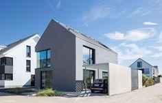Fassadenfarbe Grautöne die 9 besten bilder von fassadenfarbe grau | grey houses, facade