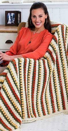 El esquema de tejer crochet alfombra