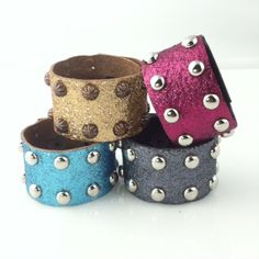 SALE on Glitter Glam Bands - Sparkle your world with our newest arrival of Glitter Glam Bands by Rodeo Envy.  Available in Copper, Gunmetal Gray, Turquoise and Razzleberry. - On Sale for $7 (was $28)