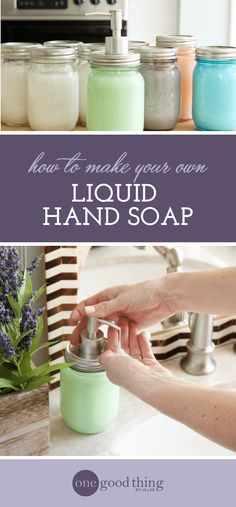 Learn how easy it is to turn a few bars of hotel soap into a gallon(!) of high-quality moisturizing hand soap. Great gift idea!