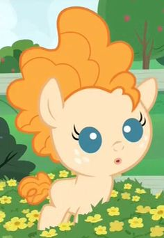 Pear Butter infant Mlp My Little Pony, My Little Pony Friendship, Strawberry Sunrise, Butter Image, Pear Butter, My Little Pony Wallpaper, Little Poni, My Little Pony Pictures, Girls Characters