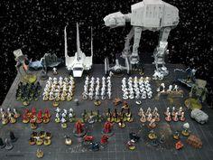 Jaffar: [Star Wars miniatures] two army