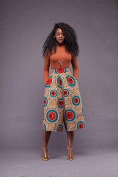 Ankara styles are the most beautiful pieces of clothing. Ankara Styles is one of the hottest African fashion you need to wear. We have many Women's African Fashion Style Outfits for you Perfe… African Fashion Designers, Latest African Fashion Dresses, African Inspired Fashion, African Print Fashion, Africa Fashion, Ankara Fashion, Modern African Fashion, Modern African Clothing, African Print Pants