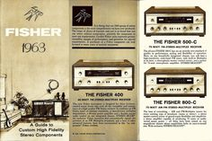 FISHER 1963 RECEIVER
