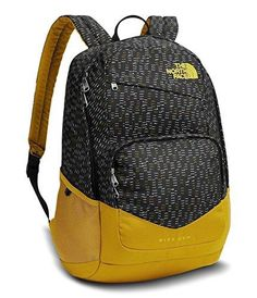 d5f37fb41 The North Face Wise Guy Backpack - Tnf Black Papercuts Print/Arrowwood  Yellow - One Size