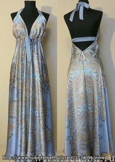 """Beautiful dress; instructions in Russian (i just right clicked and hit """"translate with Bing"""")"""