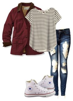 Day 4!! by alyssadesgrange on Polyvore featuring H&M, L.L.Bean, Converse and gspringbreak