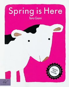 Spring is Here by Taro Gomi http://www.amazon.com/dp/0811823318/ref=cm_sw_r_pi_dp_Kazrvb1G1H87G