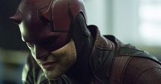 Daredevil Suits Up in New Defenders Set Photos -- Charlie Cox is ready for action as Daredevil in the latest sneak peek behind the scenes of Netflix's The Defenders. -- http://tvweb.com/defenders-netflix-series-set-photos-daredevil-costume/
