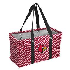 Louisville Cardinals Picnic Caddy Large Collapsible Tote