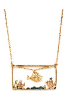 @Kimberly Martin, you need this!!!  Many Tanks Necklace, #ModCloth