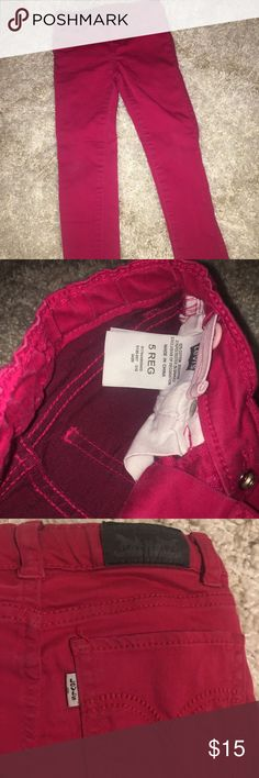 Levi's jeans Deep pink color  Toddler size 5 regular Good condition Levi's Bottoms Jeans