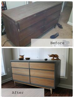 Chic, Salvaged Mid-Century Modern Furniture by Revitalized Artistry : TreeHugger