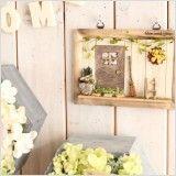 【作家さん×Acorn-Styleコラボ*】ミニチュア雑貨ブリキGarden:オシャレかわいい雑貨のお店 Acorn-Style* Cheese, Wood Art, Gardens, Pictures