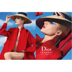 """Daria Strokous for Dior """"Transat"""" Summer Makeup Collection 2014 Spring Summer, Summer 2014, Beauty News, Beauty Trends, Dior Fashion, Luxury Fashion, Dior 2014, Cosmetics News, Dior Beauty"""