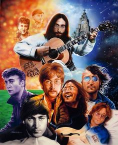36 Years Since John Lennon Was Assassinated! 36 Years Since John Lennon Was Assassinated! Click Picture To Read My Full Tribute John Lennon, Great Bands, Cool Bands, Beatles Art, Music Is My Escape, Celebrity Caricatures, British Rock, Thanks For The Memories, Punk