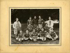 Équipe de football de Grignon, photographie ancienne /  © Musée du Vivant - AgroParisTech