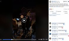Water protectors host funeral of the earth, climate, and indigenous rights in front of the Minnesota Public Utilities Commissioner Katie Sieben's house.
