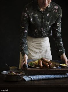 Bangers & mash food photography recipe idea | premium image by rawpixel.com