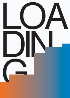 loading, by bogdan ceausescu - typo/graphic posters Typeface Font, Typography, My Tumblr, Editorial Design, Romania, Dark Side, Cool Pictures, How To Memorize Things, Layout