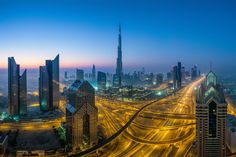 Veins of Dubai by WK Cheoh on 500px