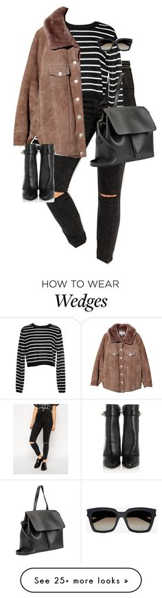 """""""Untitled #10295"""" by alexsrogers on Polyvore featuring ASOS, TIBI, Acne Studios, Givenchy, Mansur Gavriel and Yves Saint Laurent"""