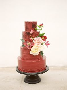 Fall Wedding Cakes , Wedding Cakes Photos by Birds of a Feather Events - Image 1 of 23 - WeddingWire