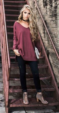 Best Comfortable Women Fall Outfits Ideas As Trend 2017 265 Cute Fall Outfits, Outfits For Teens, Trendy Outfits, Winter Outfits, Cool Outfits, Summer Outfits, Teen Fashion, Fashion Outfits, Women's Fashion