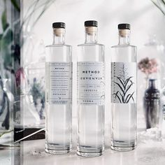 Test tube meets botanical garden in the #packagingdesign by @wearedevice for Method + Standard.  There's more #graphicdesign to drink up on >>eyeondesign.aiga.org<<
