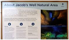 Jabobs Well Natural Area in Wimberley, Texas - A Visitwimberley Guide