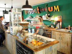 Roestbar 3  En la ciudad de Münster, Alemania, nos encontramos con este encantador café.