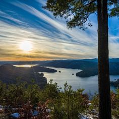 Views from Lake Jocassee, a quick getaway out of the city.  Instagram photo by Matt Motter // yeahthatgreenville