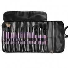 15 Piece Wild Purple Makeup Brush Set: Great Value- BH Cosmetics! $22.00