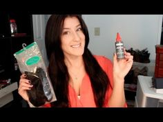 How To Glue In Your Hair Extensions! (UPDATED) - YouTube