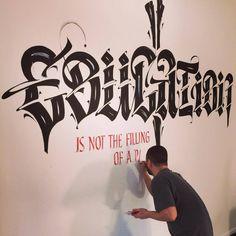 Luca Barcellona #calligraphy #calligrafia
