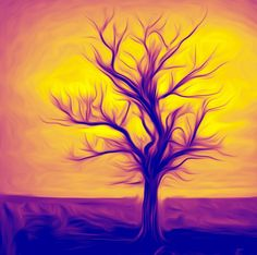 "Saatchi Art Artist Martin Dingli; New Media, ""Tree"" #art"